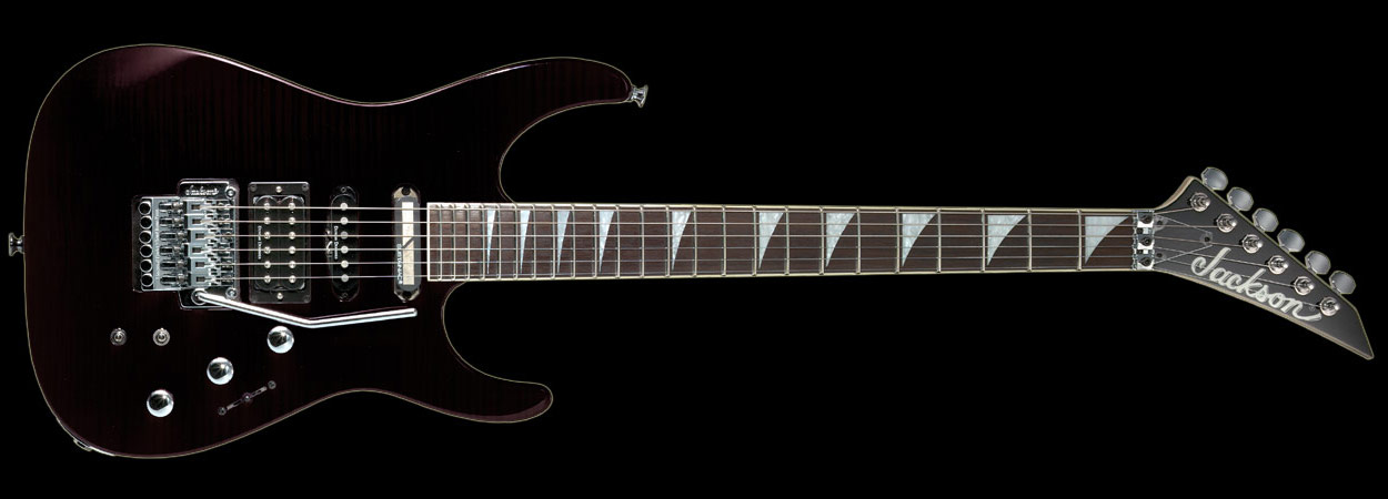 JACKSON DK-2S, production guitar with Stealth PRO installed on